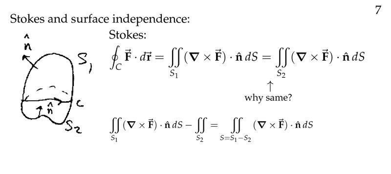 Session 95: Stokes' Theorem and Surface Independence | Part C ...