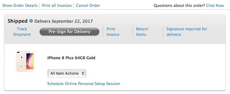 Reminder: How to Pre-Sign for Your Delivery of New Apple Products ...