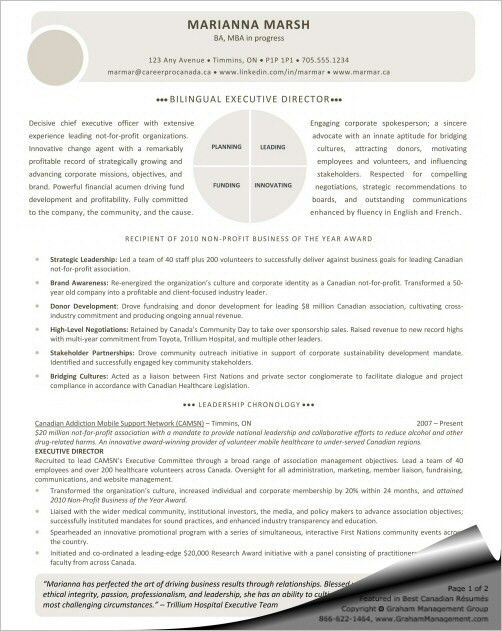 Executive Director Resume 2917 Plgsaorg