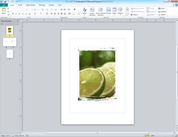 Making a Greeting Card in MS Publisher 2010 | Chester County Library