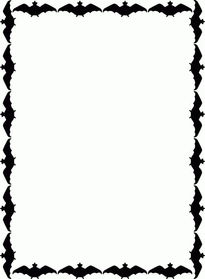 Free Printable Borders - Full Page Designs
