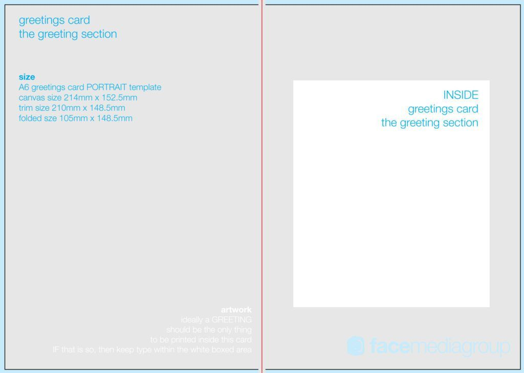 6 Greeting card templates | Print Paper Templates