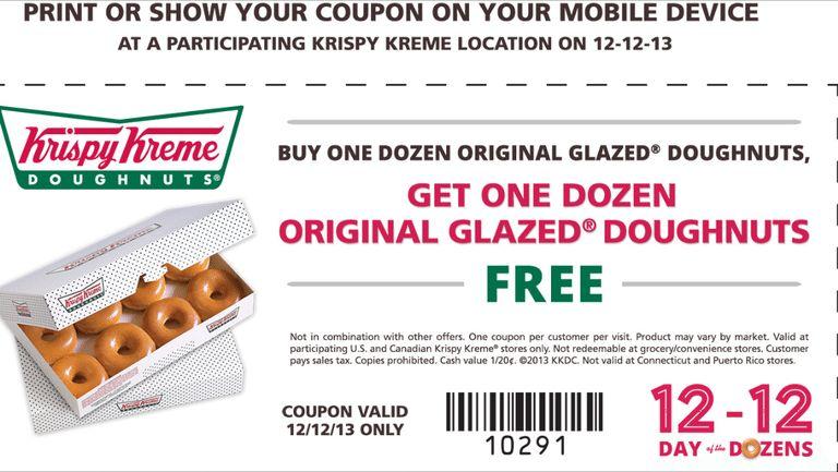 Krispy Kreme coupons | Coupon Codes Blog