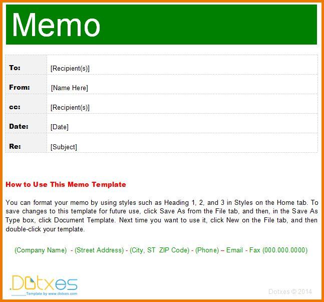 4 Interoffice Memo Template | Expense Report