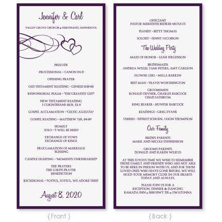 19 best programs images on Pinterest | Wedding programs, Wedding ...