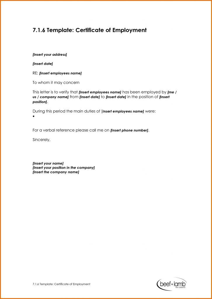 Army Certificate Of Achievement Template Checklist Word Employment ...
