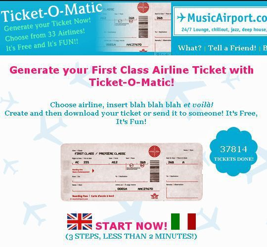 Fake Airline Ticket Maker Ticket O Matic Is The Best Fake Airline – Airline Ticket Template Free