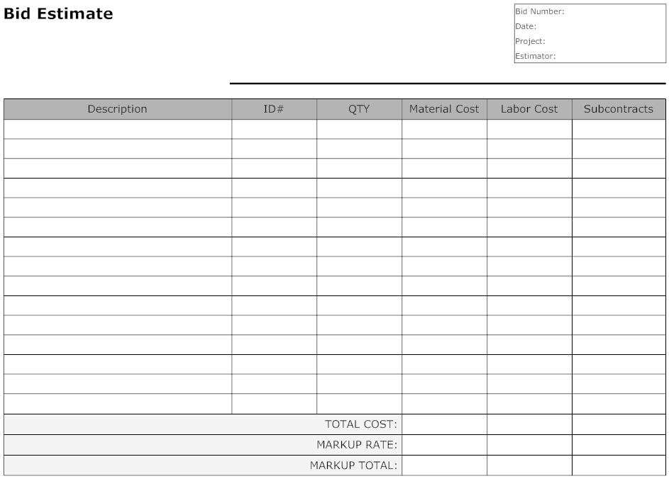 10 Best Images of Free Printable Business Form Templates - Free ...