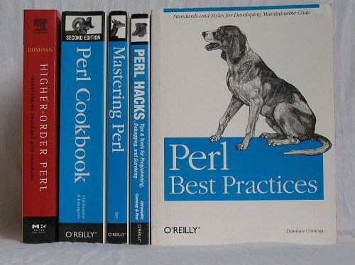 Five must-have books on Perl programming