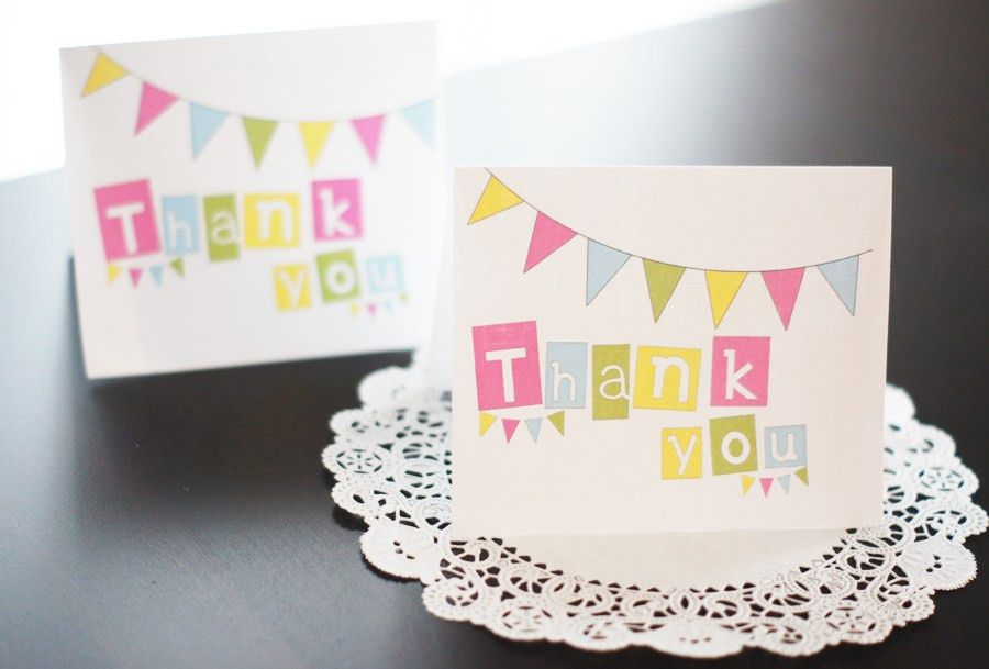 Free printable thank you cards   Bake Sale Flyers – Free Flyer Designs