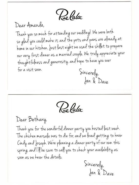 Classic Courtesy: The Art of the Thank-You Note - Rue Now
