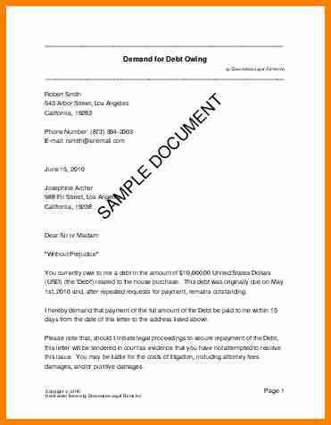 4+ draft demand letter for payment | lawyer-resume