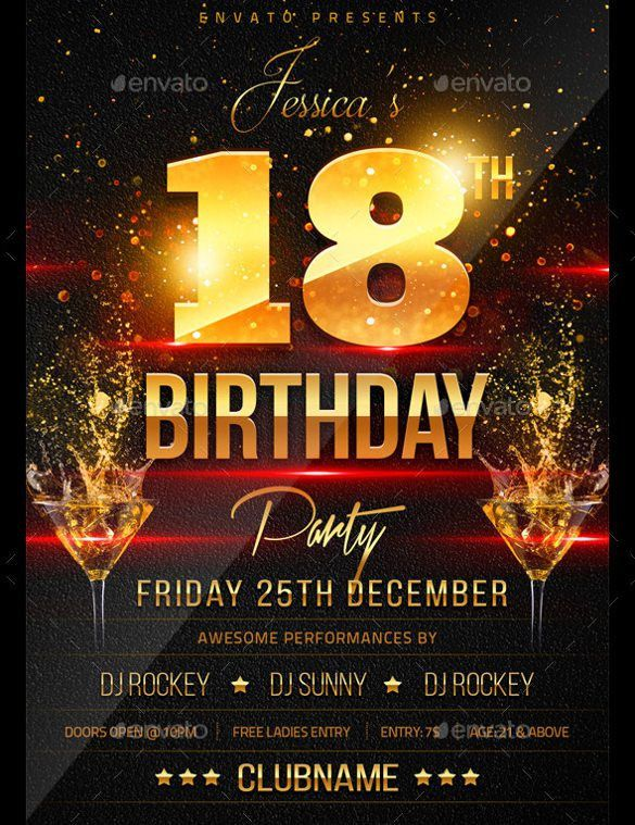 21+ Birthday Flyer Templates – Free Sample, Example, Format ...