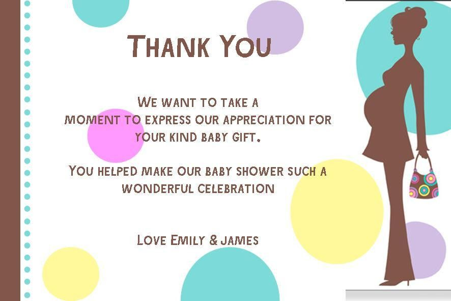 How to create Baby Shower Thank You Card Etiquette — Anouk Invitations