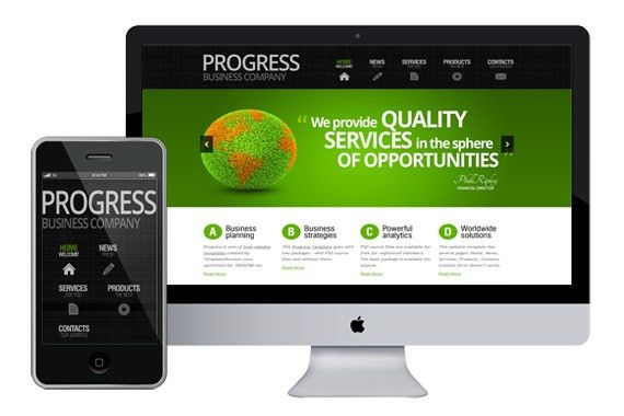 zProgress - Free Responsive Html5 Theme - Zerotheme