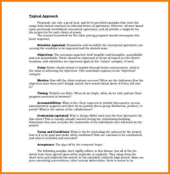 6+ business proposal template | Proposal Template 2017