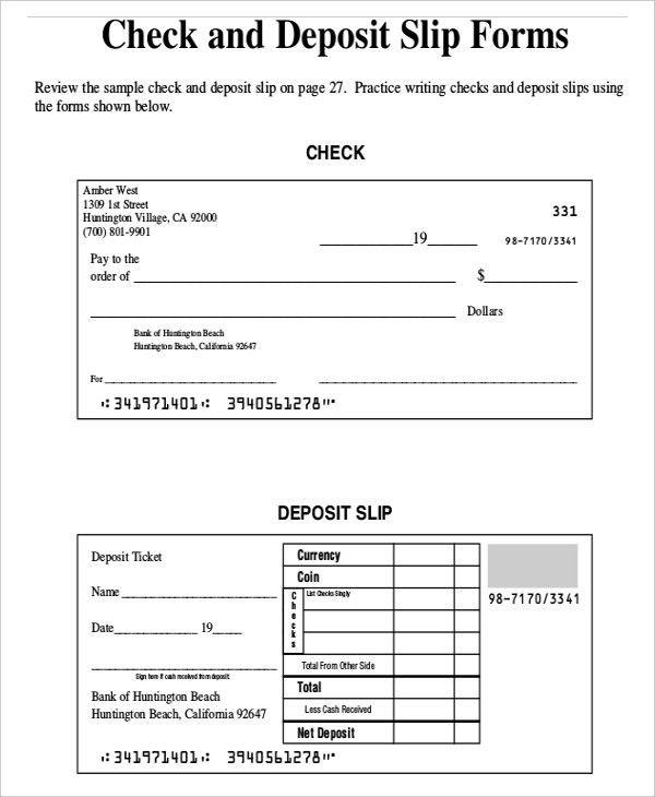 11+ Slip Templates - Free Sample, Example Format | Free & Premium ...