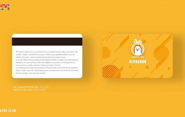 Yangtuo Club Card A - iKEYI Creative Studio