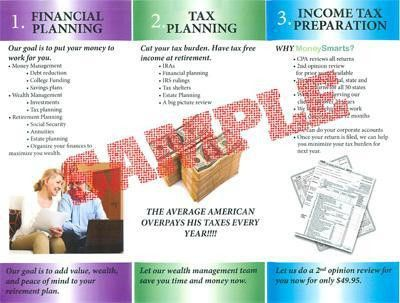 Tax Preparation Services for Financial Planners - Money Smarts