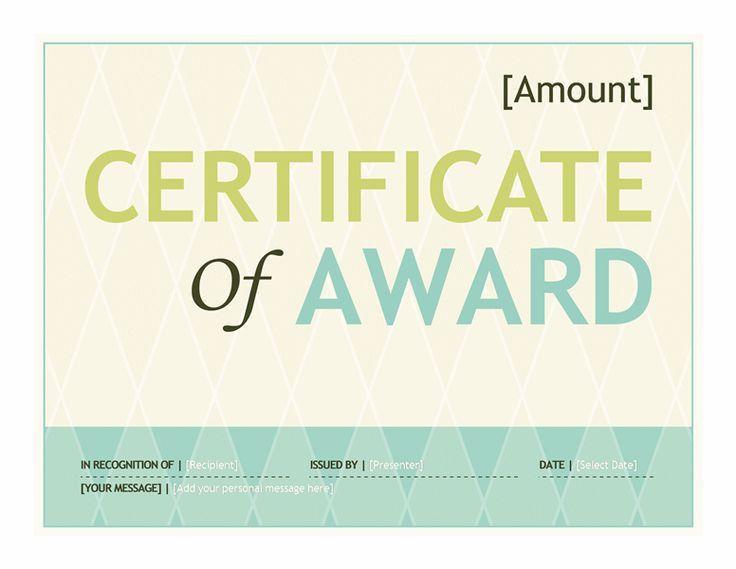 18 best certificate images on Pinterest | Certificate design, Gift ...