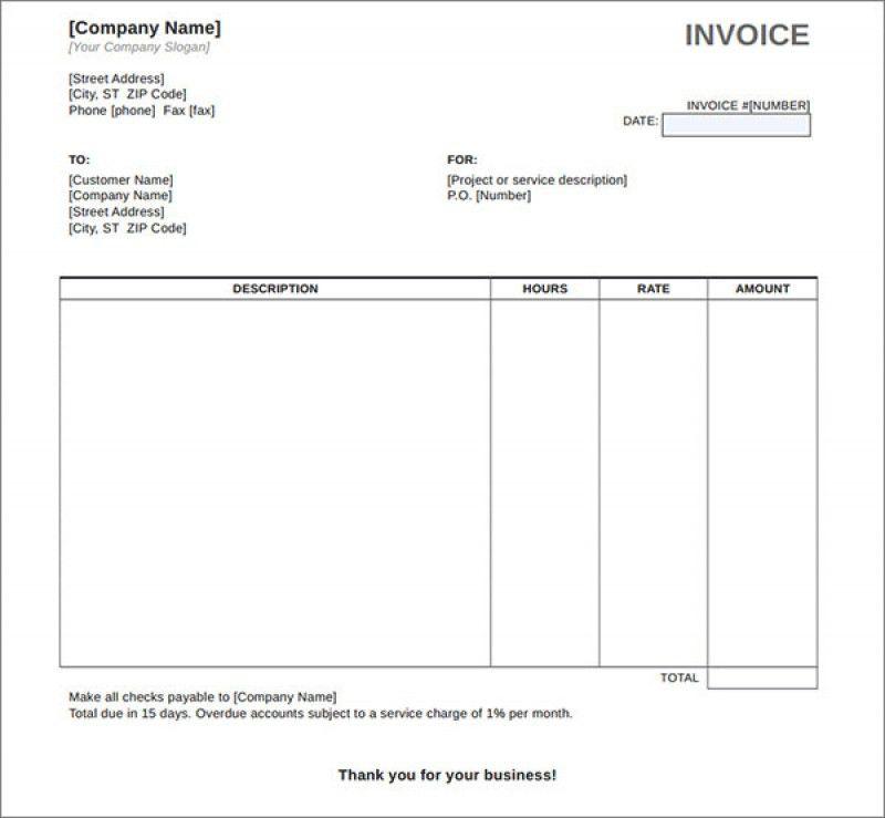 Simple Invoice Cover Letter | rabitah.net
