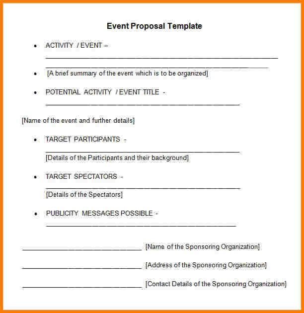 10+ event planner proposal | Proposal Template 2017