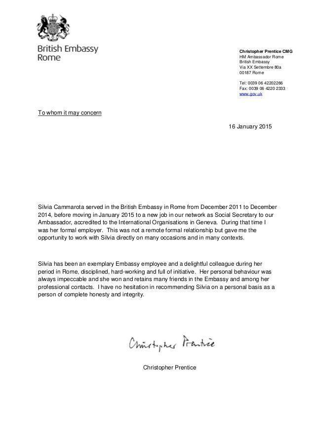 Christopher Prentice - Reference Letter