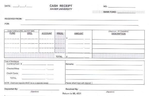 Good Fill In The Blank And Cash Receipt Word Template : Vlcpeque