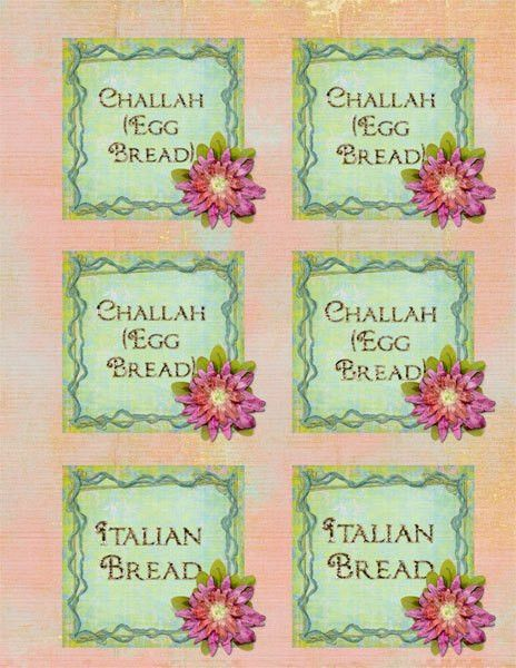 Spring Bake Sale Labels - Scrapbookgraphics.com Gallery