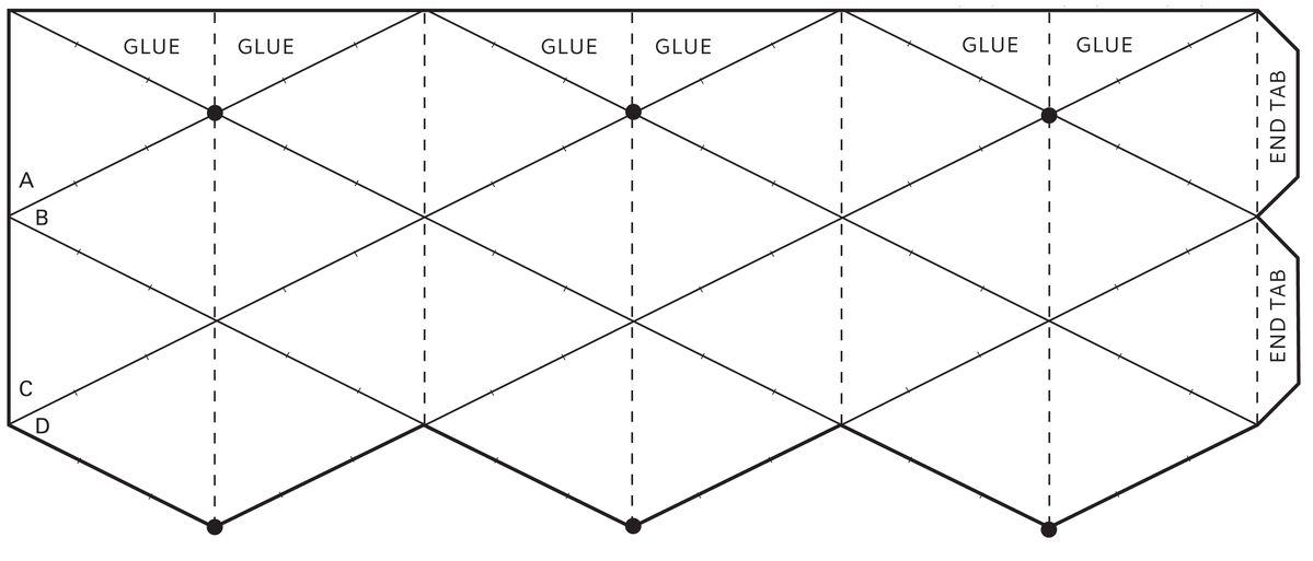 flextangles template template google 3066 1312 kaleidocycle templates ...