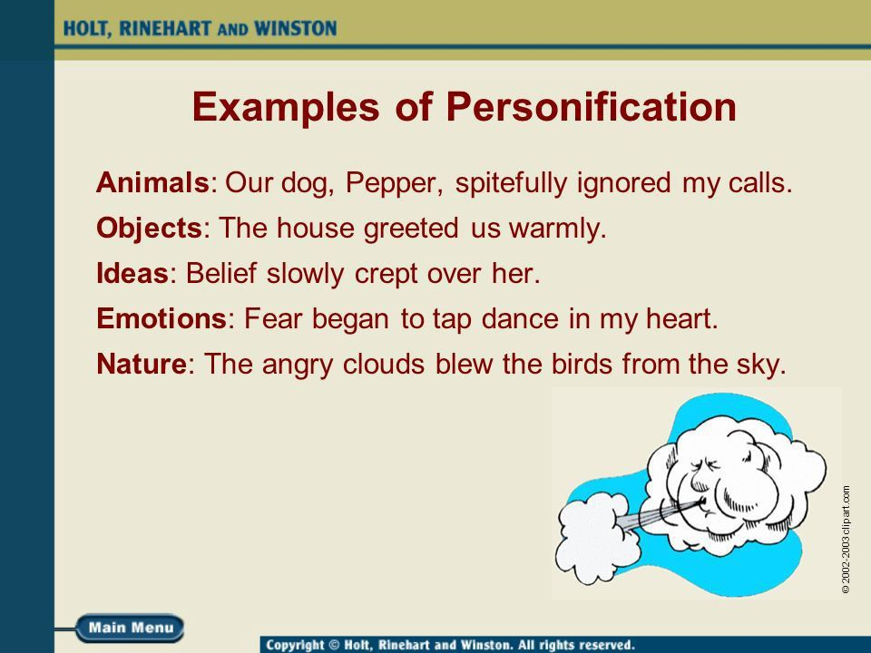 Personification A Human Touch. - ppt video online download