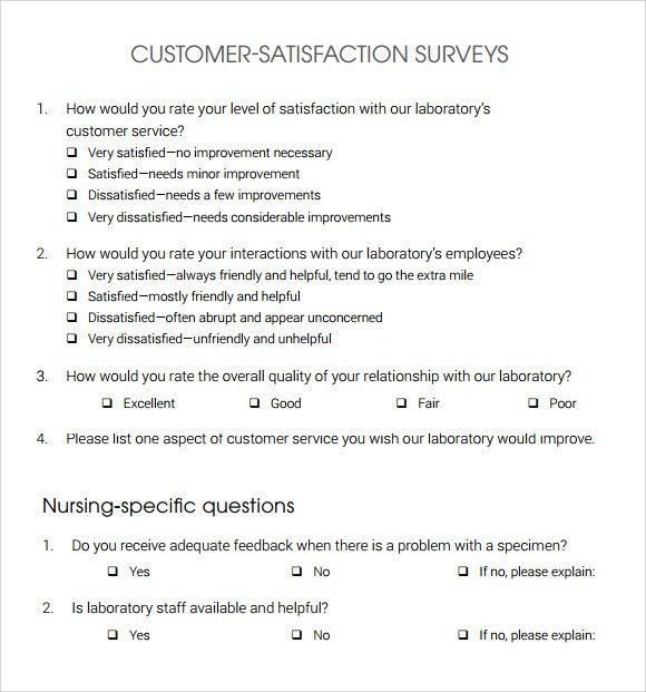 Blank Survey Template. Post-Employee-Printable-Template-Staff ...