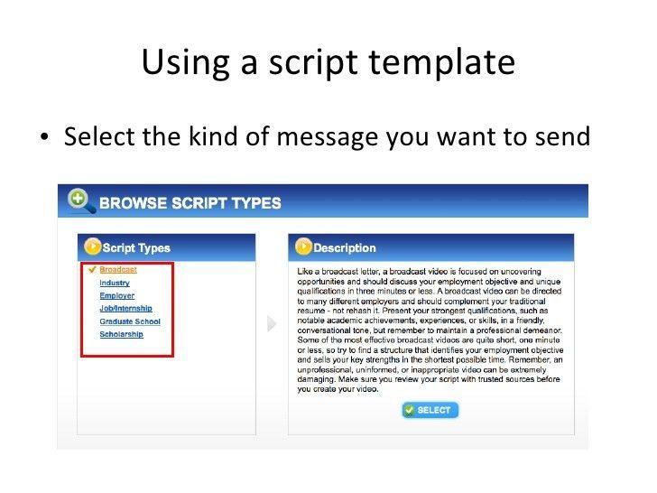 Download Video Resume Sample | haadyaooverbayresort.com
