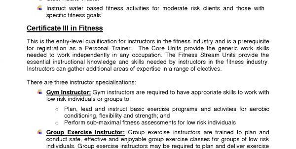 Personal Trainer Resume Sample No Experience Personal Trainer ...
