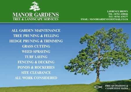Examples of designs by Optical Design - Manor Gardens Flyer