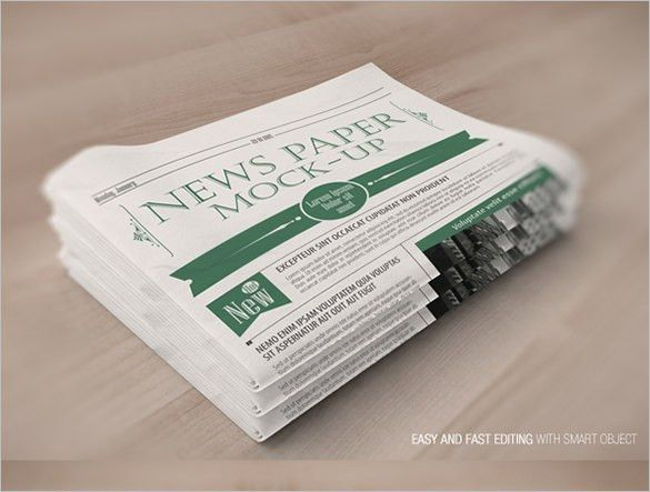 13+ Free Newspaper Templates – Free Sample, Example, Format ...