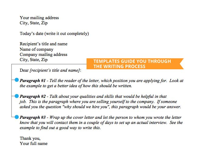 Cover Letter Templates - Jobscan