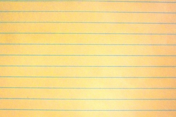 Yellow Notebook Paper Texture Picture | Free Photograph | Photos ...