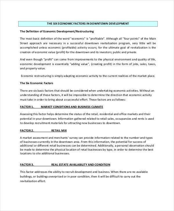 Business Project Report Templates - 7+ Free Word, PDF Format ...