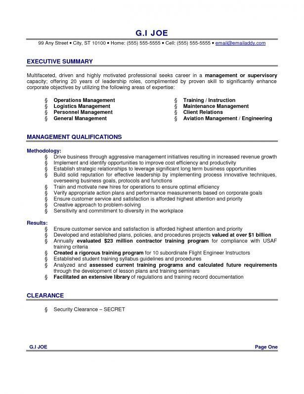 Resume : How To Type A Resume How To Write Career Summary Resume ...