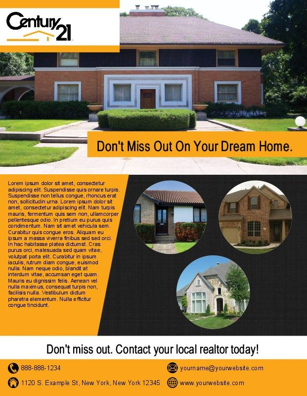 Century 21 Flyers | Flyer Printing for Century 21 Real Estate