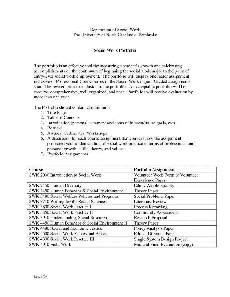 Example Social Work Resume Resume - Schoodie.com