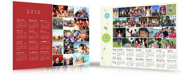 Create a Wall Calendar with Photos from Facebook | Design Studio