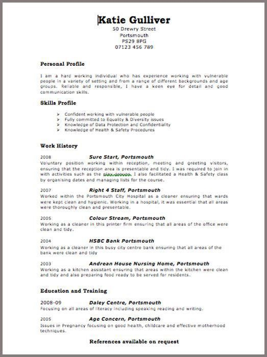 Free Resume Templates | Fotolip.com Rich image and wallpaper
