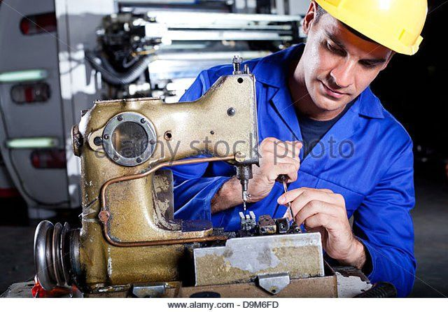Mechanic Sewing Machine Stock Photos & Mechanic Sewing Machine ...