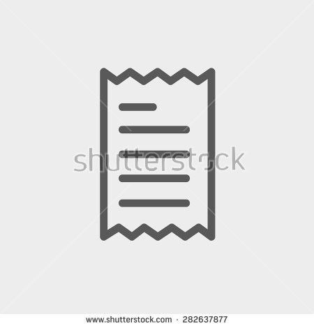 Pen Paper Sign Simple Icon On Stock Vector 406710238 - Shutterstock