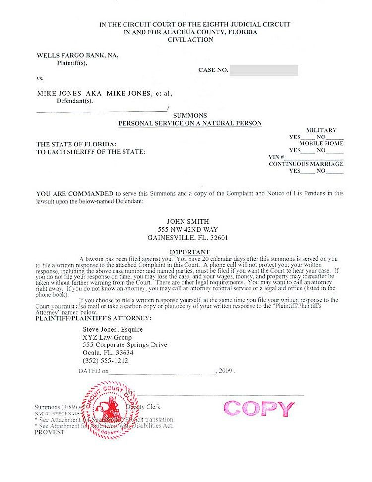 notice. stock photo notice of foreclosure letter and envelope ...