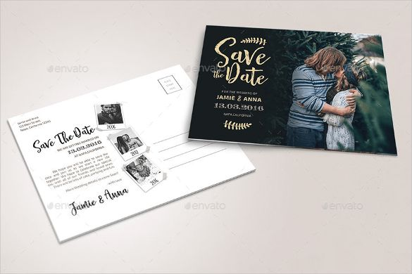 22+ Save the Date Postcard Templates – Free Sample, Example Format ...