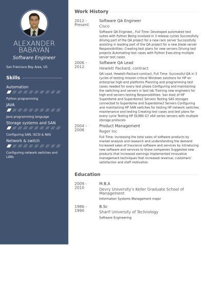 qa engineer resume sample quality assurance engineer resume