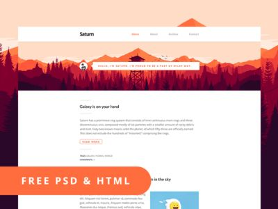 HTML Templates Archives | Freebie Magz